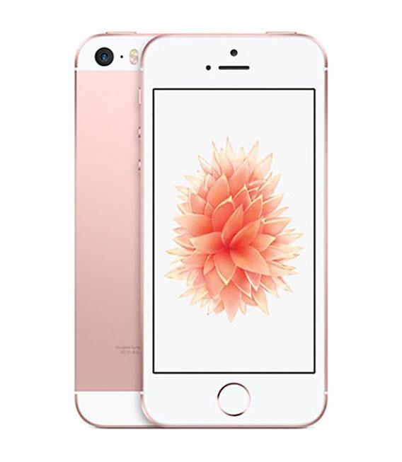 【中古】【安心保証】 SoftBank iPhoneSE[64G] ローズゴールド SIMロック解除済