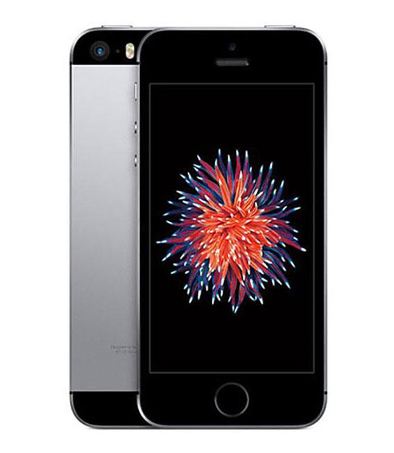 【中古】【安心保証】 SoftBank iPhoneSE 64GB スペースグレイ SIMロック解除済