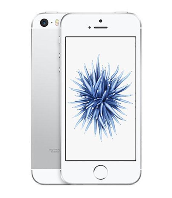 【中古】【安心保証】 SoftBank iPhoneSE[64G] シルバー SIMロック解除済