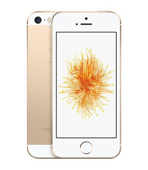 【中古】【安心保証】 SoftBank iPhoneSE[64G] ゴールド SIMロック解除済