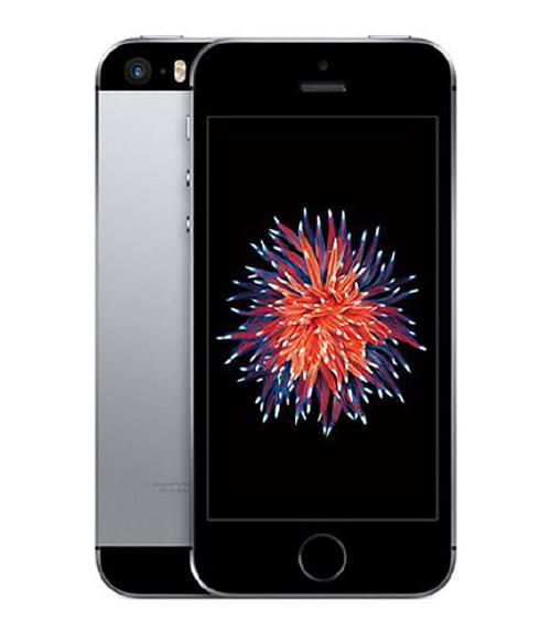 【中古】【安心保証】 au iPhoneSE[64G] スペースグレイ