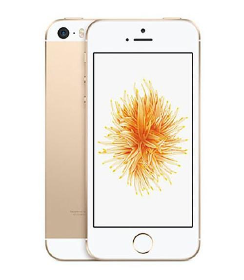 【中古】【安心保証】au iPhoneSE[64G] ゴールド