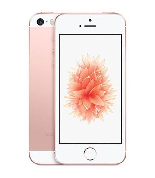 【中古】【安心保証】 au iPhoneSE[32G] ローズゴールド