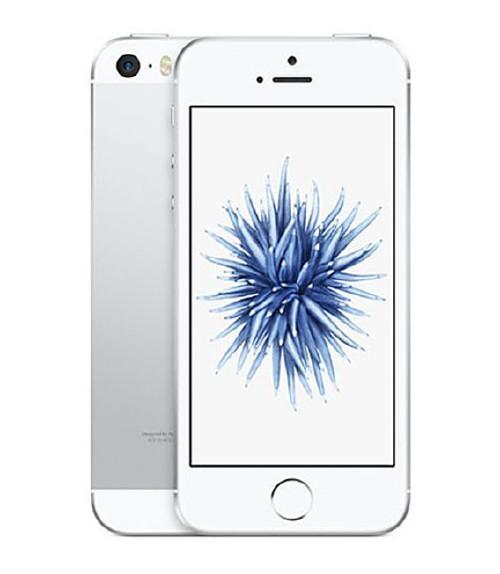 【中古】【安心保証】 au iPhoneSE[32G] シルバー