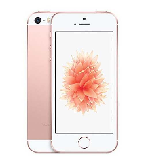 【中古】【安心保証】 au iPhoneSE[16G] ローズゴールド