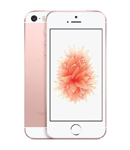 【中古】【安心保証】au iPhoneSE[16G] ローズゴールド