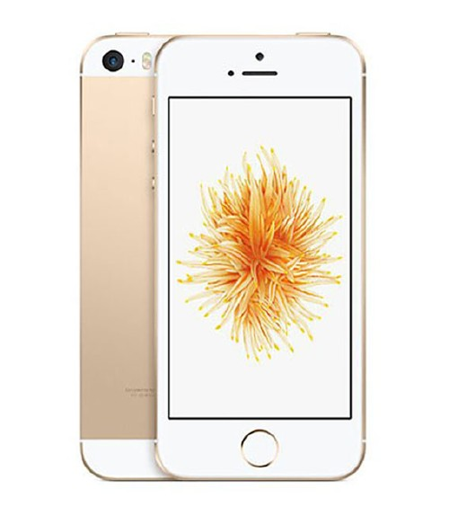 【中古】【安心保証】 au iPhoneSE[16GB] ゴールド