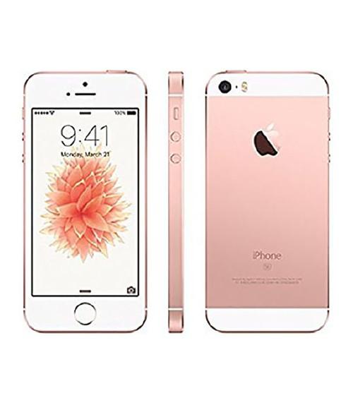 【中古】【安心保証】au iPhoneSE[128G] ローズゴールド