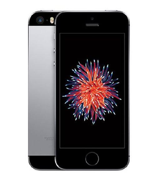 【中古】【安心保証】 au iPhoneSE[128G] スペースグレイ