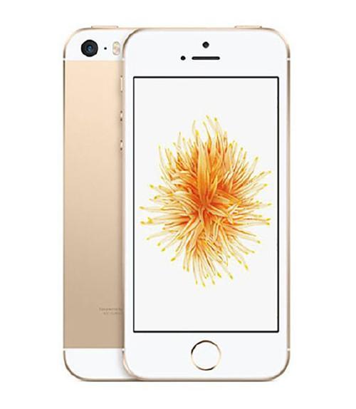 【中古】【安心保証】 au iPhoneSE[128G] ゴールド