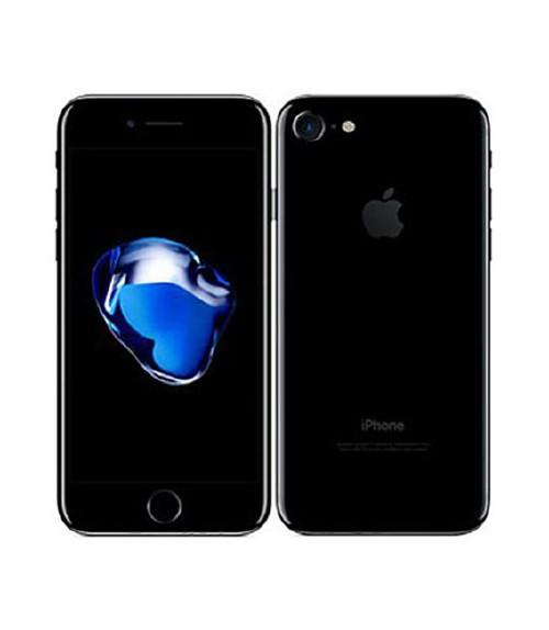 【中古】【安心保証】 au iPhone7[32G] ジェットブラック