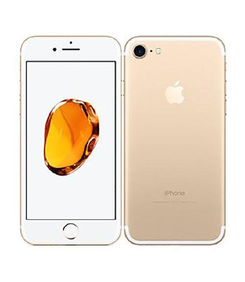【中古】【安心保証】 au iPhone7[32G] ゴールド