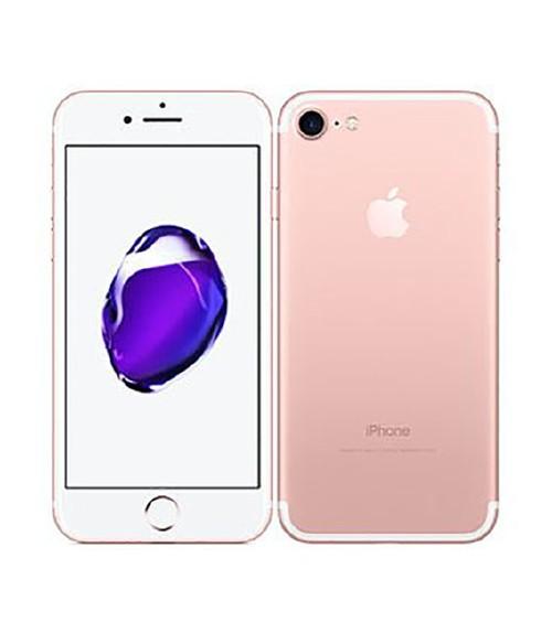 【中古】【安心保証】 au iPhone7[256GB] ローズゴールド