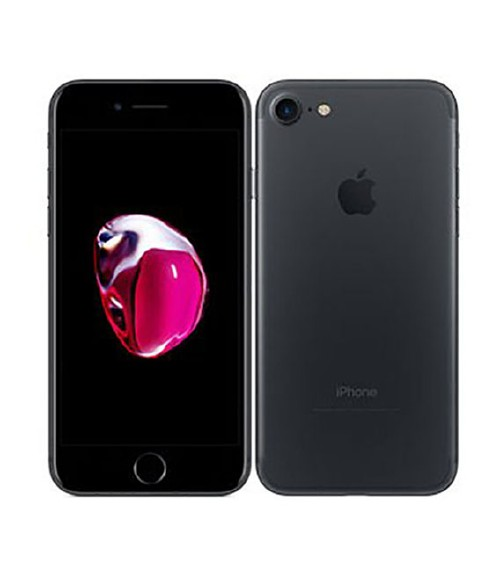 【中古】【安心保証】au iPhone7[256G] ブラック