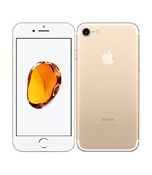 【中古】【安心保証】au iPhone7[256G] ゴールド