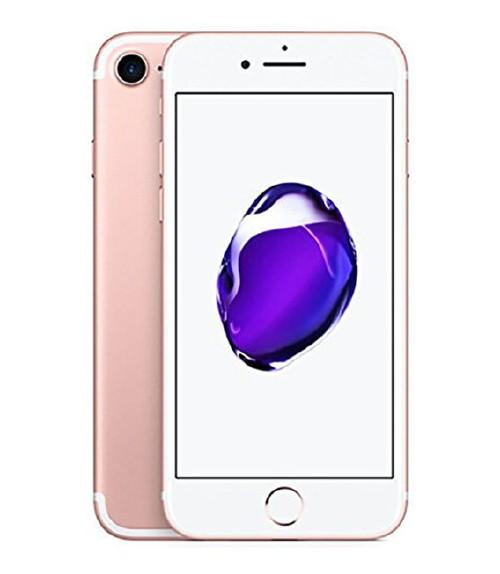 【中古】【安心保証】au iPhone7[128G] ローズゴールド