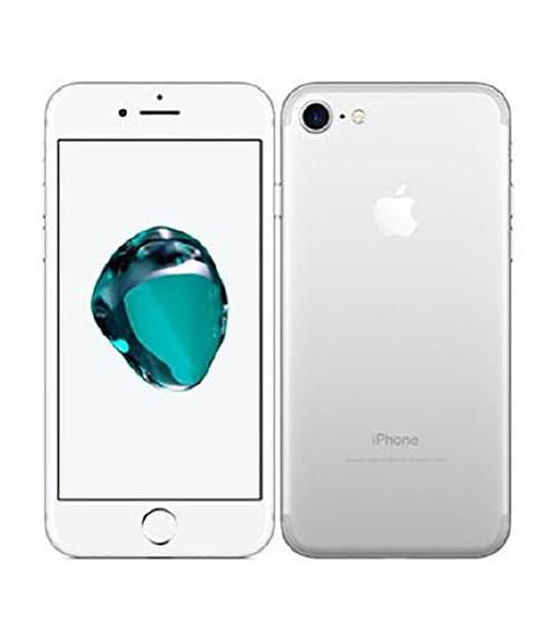【中古】【安心保証】au iPhone7[128G] シルバー