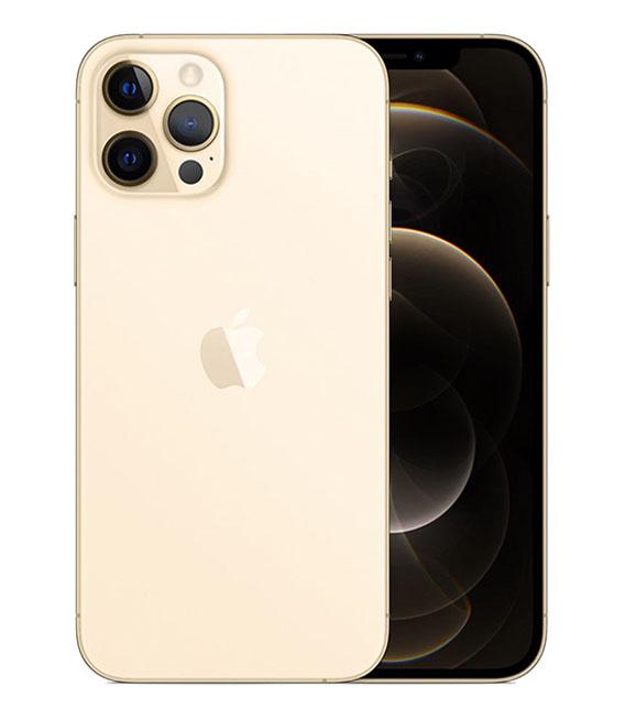 【中古】【安心保証】 iPhone12ProMax[256GB] docomo MGD13J ゴールド