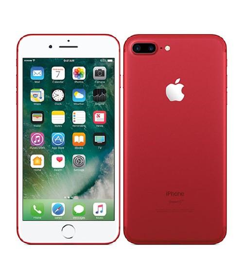 【中古】【安心保証】 au iPhone7Plus[256GB] レッド