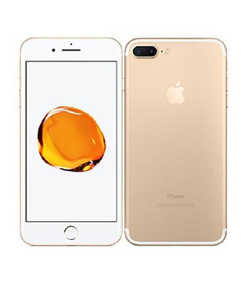 【中古】【安心保証】 au iPhone7Plus[256GB] ゴールド