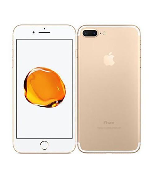 【中古】【安心保証】au iPhone7Plus[128G] ゴールド