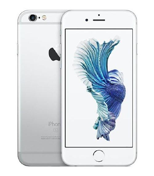 【中古】【安心保証】au iPhone6s[64G] シルバー