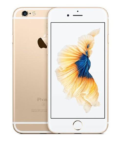 【中古】【安心保証】 au iPhone6s[64G] ゴールド