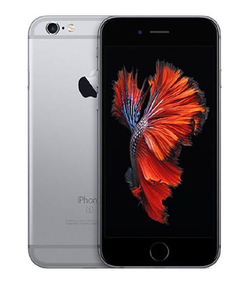 【中古】【安心保証】au iPhone6s[16G] スペースグレイ