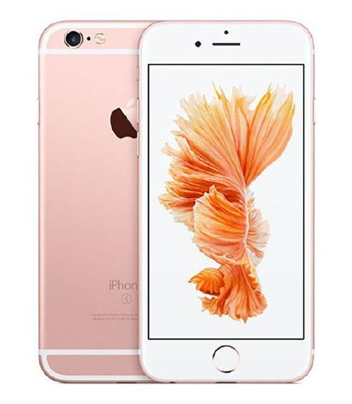 【中古】【安心保証】au iPhone6s[128G] ローズゴールド