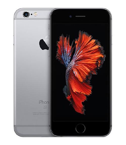 【中古】【安心保証】au iPhone6s[128G] スペースグレイ