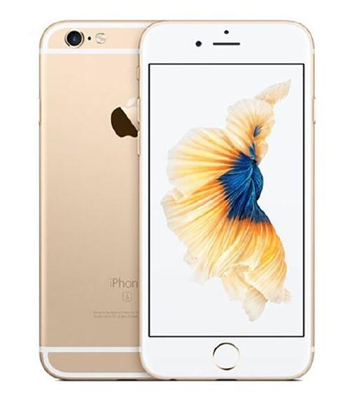 【中古】【安心保証】au iPhone6s[128G] ゴールド