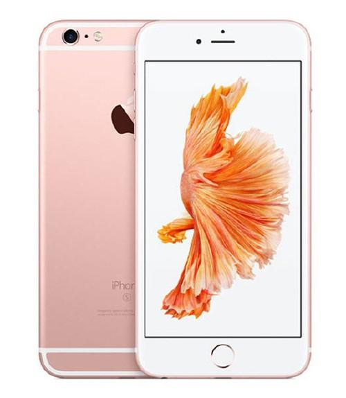 【中古】【安心保証】au iPhone6sPlus[64G] ローズゴールド