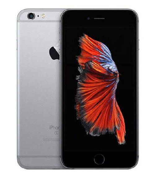 【中古】【安心保証】au iPhone6sPlus[64G] スペースグレイ