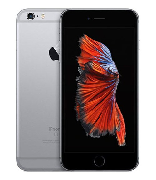 【中古】【安心保証】au iPhone6sPlus[16G] スペースグレイ