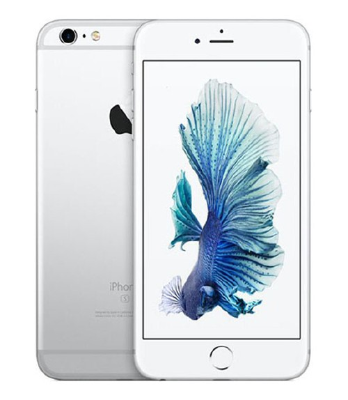 【中古】【安心保証】 au iPhone6sPlus[16G] シルバー