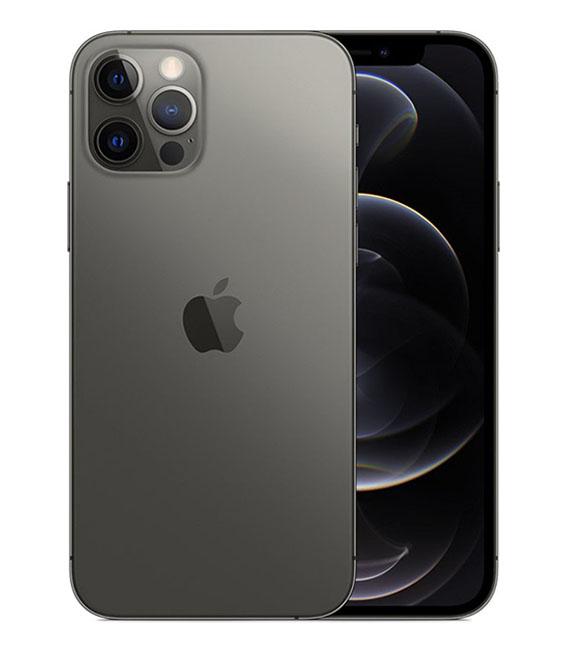 【中古】【安心保証】 au iPhone12Pro[256G] グラファイト
