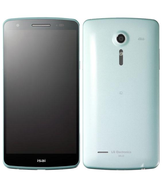 本体 白ロム Androidスマートフォン 公式ショップ Bランク 40%OFFの激安セール エーユー isai L22 中古 安心保証 au