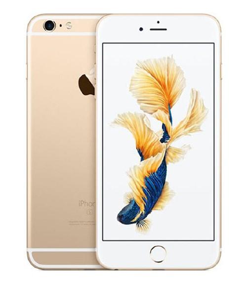 【中古】【安心保証】au iPhone6sPlus[128G] ゴールド
