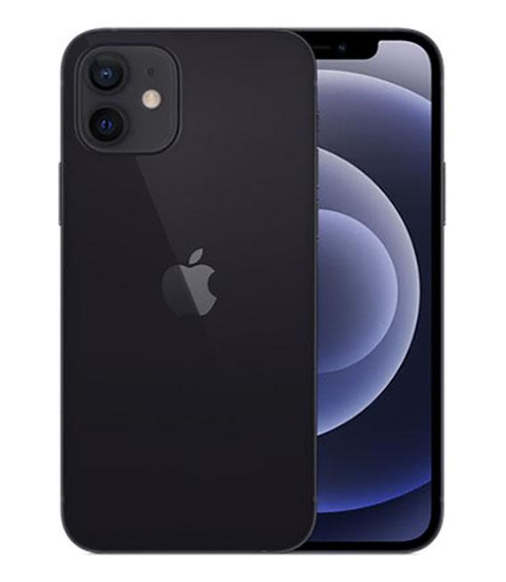 【中古】【安心保証】 SoftBank iPhone12[64G] ブラック