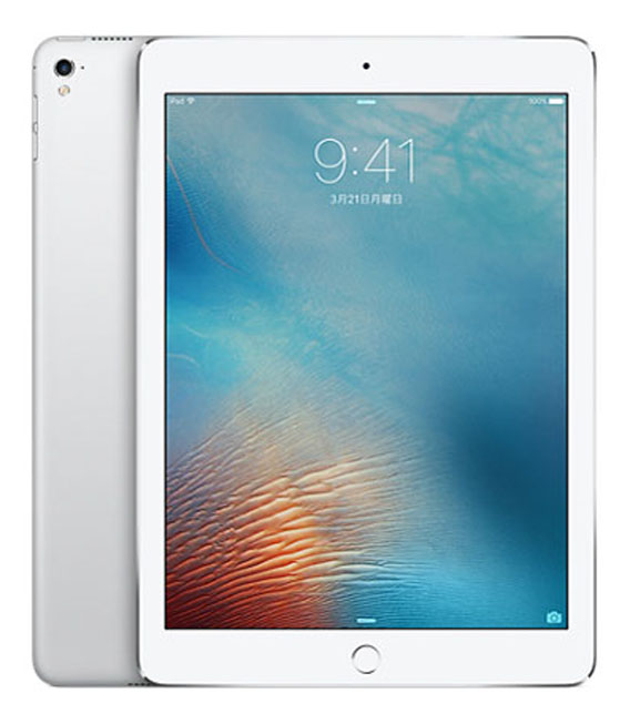 【中古】【安心保証】 SoftBank iPadPro 1ー9.7[セルラー32G] シルバー