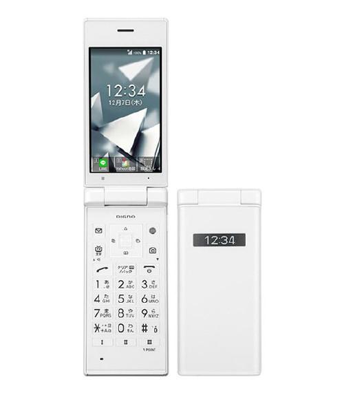 【25日限定P10倍】【中古】【安心保証】 Y!mobile DIGNO ケータイ 702KC ホワイト