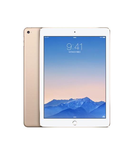 全品最安値に挑戦 本体 白ロム iPad 公式 Aランク WI-FIモデル 中古 安心保証 9.7インチ Wi-Fiモデル iPadAir 64GB ゴールド 第2世代