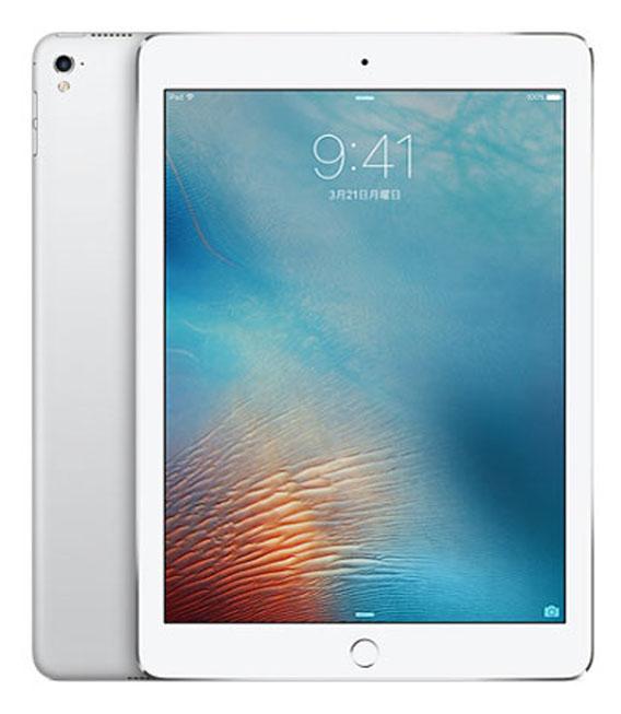 【中古】【安心保証】 au iPadPro 1ー9.7[セルラー128G] シルバー