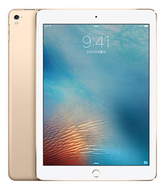 【中古】【安心保証】 SoftBank iPadPro 1ー9.7[セルラー32G] ゴールド