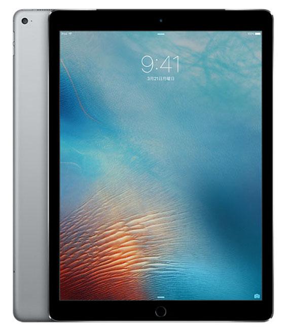 【中古】【安心保証】 docomo iPadPro 1ー12.9[セルラー256G] グレイ