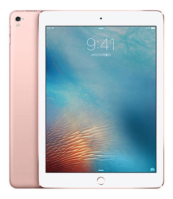【中古】【安心保証】 SoftBank iPadPro 1ー9.7[セルラー32G] ローズ