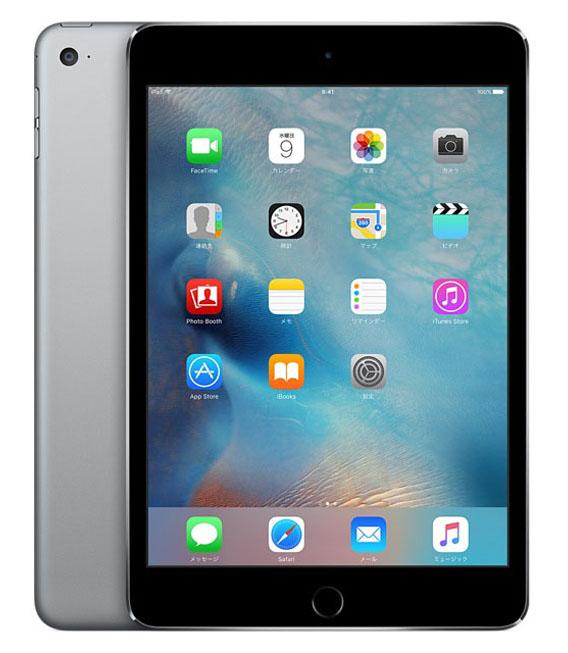 【中古】【安心保証】 iPadmini4[WiFi64G] グレイ
