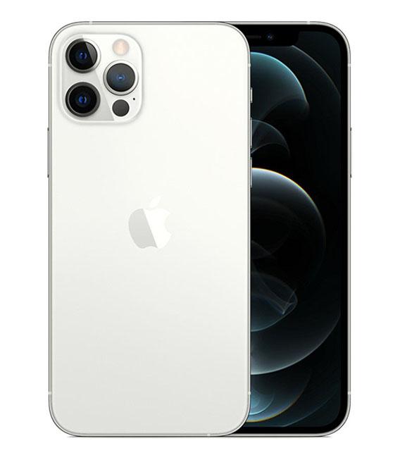 【中古】【安心保証】 docomo iPhone12Pro[128G] シルバー SIMロック解除済