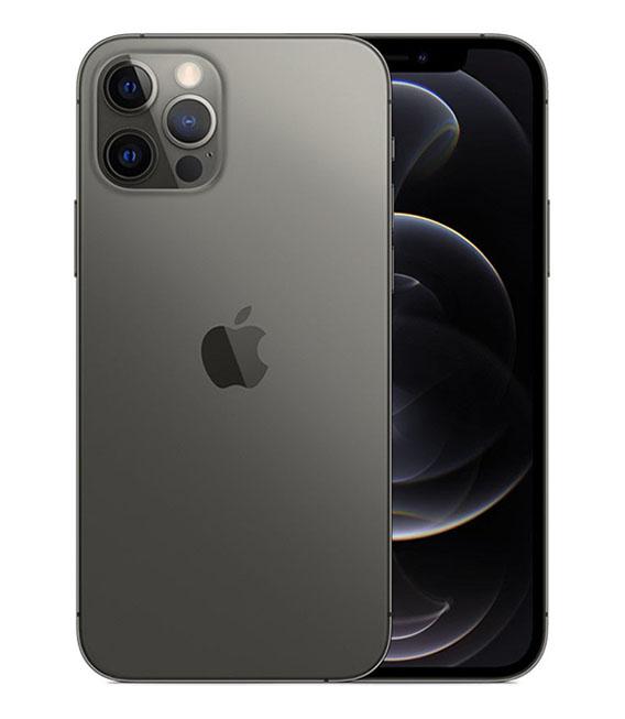 【中古】【安心保証】 iPhone12Pro[256GB] SIMロック解除 docomo グラファイト