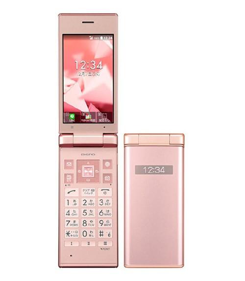 【中古】【安心保証】 SoftBank DIGNO ケータイ2 701KC ピンク